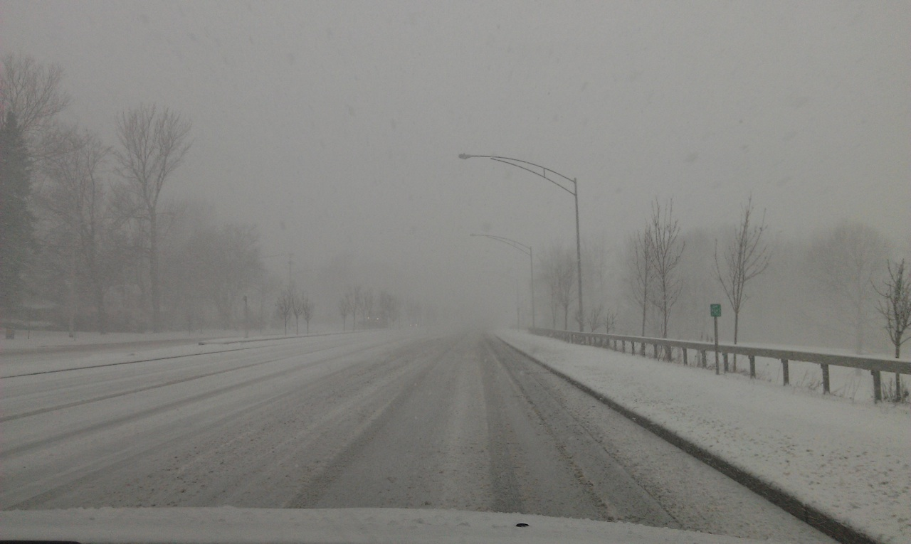 The Roads That Day In Rochester, NY