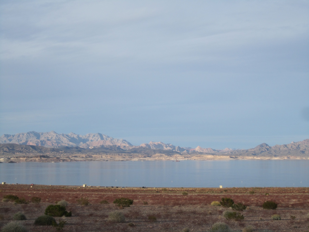 Our First Look Of Lake Mead