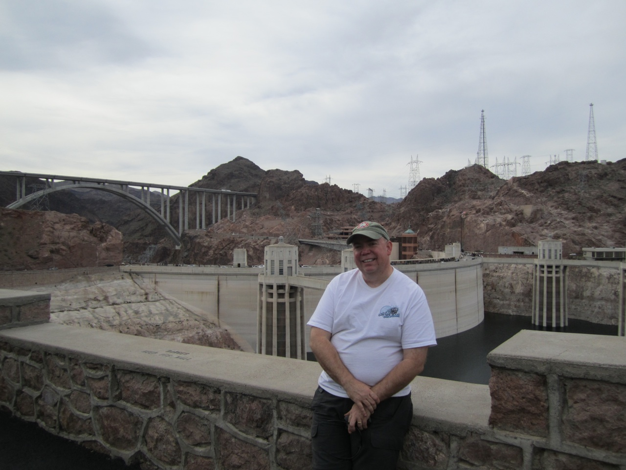 David, The Hoover Dam And The New Bypass Bridge