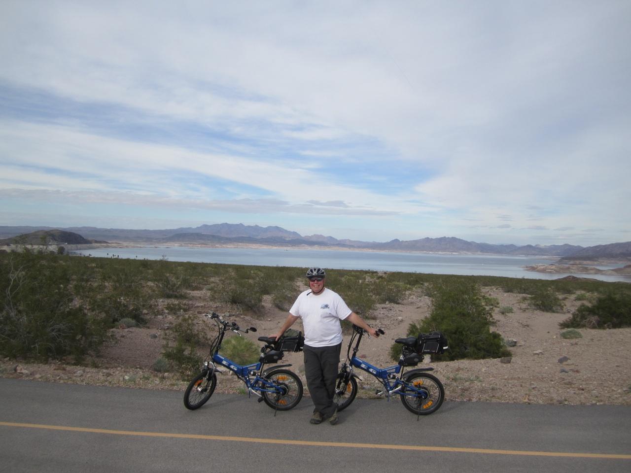 Biking Lake Mead