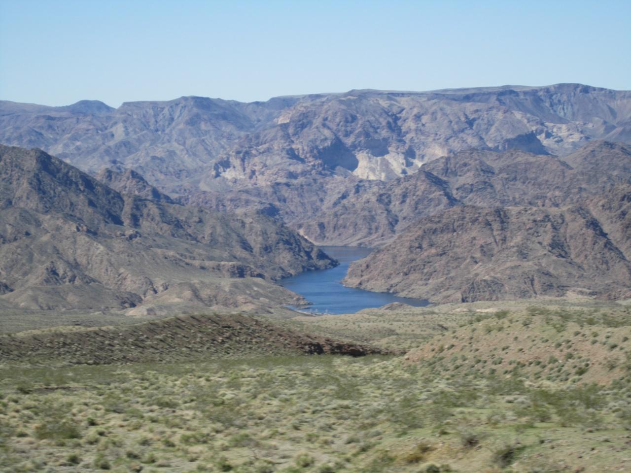 Beautiful Scenery On Our Way To Kingman, AZ