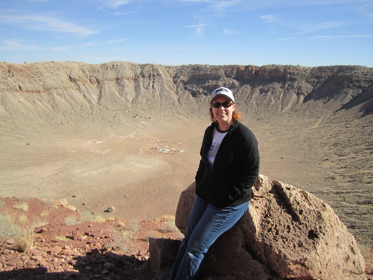Brenda And The Meteor Crater