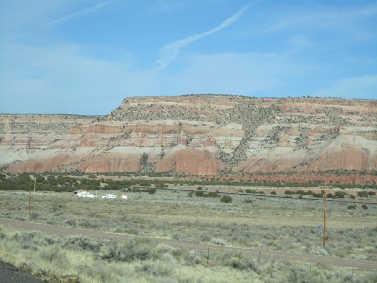 Beautiful Rocky Mountains On Our Way To Gallup, NM On I-40
