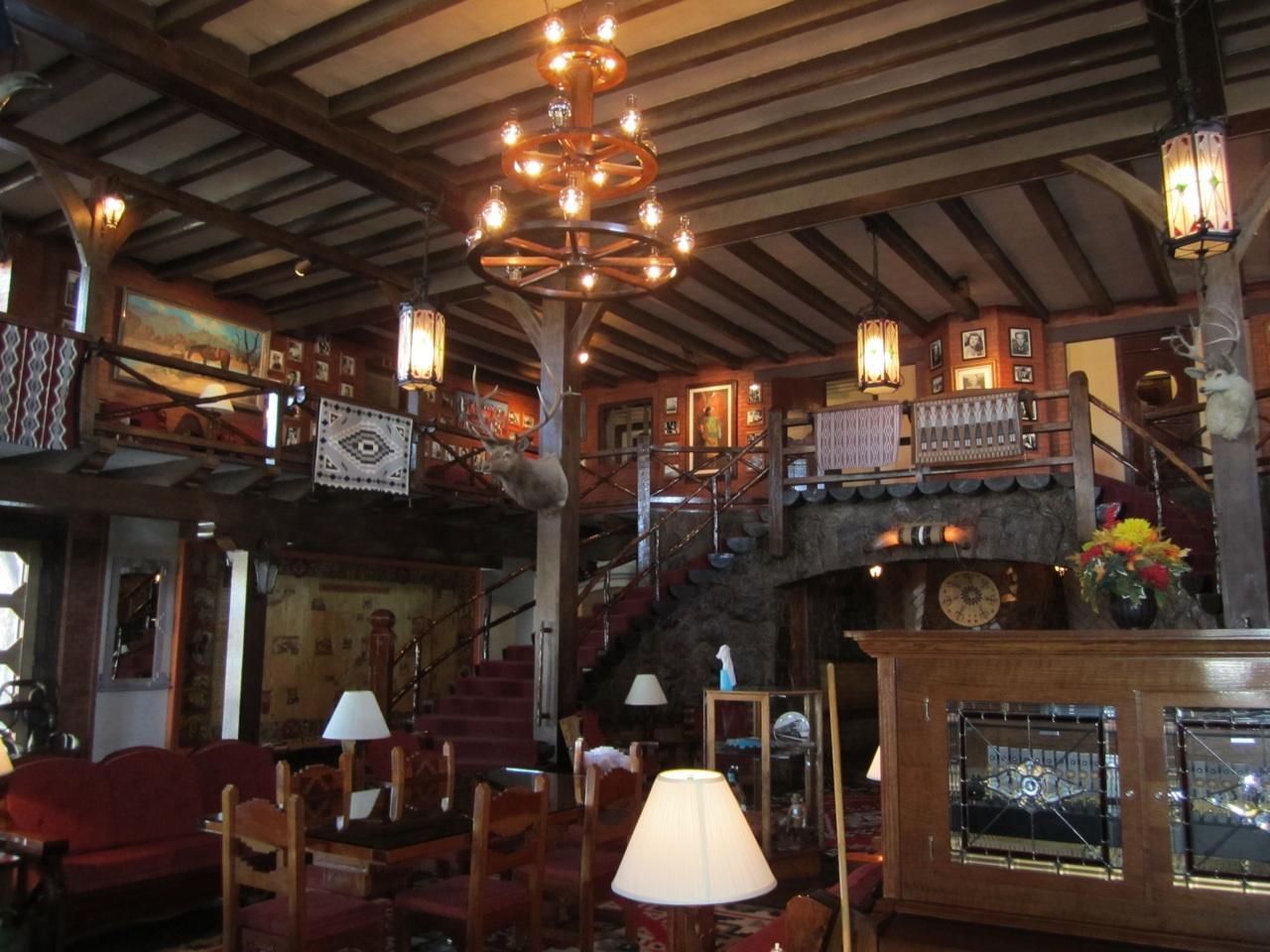Inside El Rancho Hotel