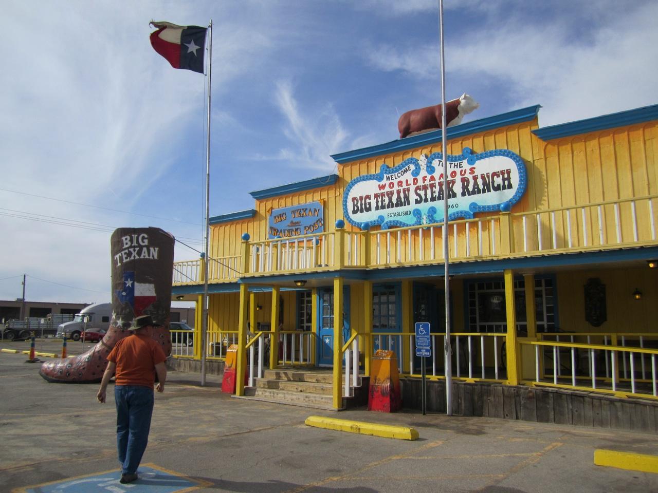 The Big Texan Steak Ranch In Amarillo, TX