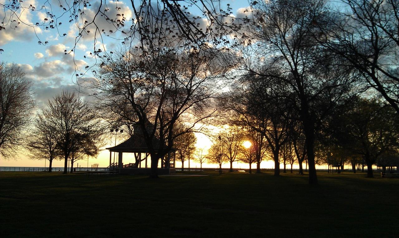 Sunrise At Ontario Beach Park