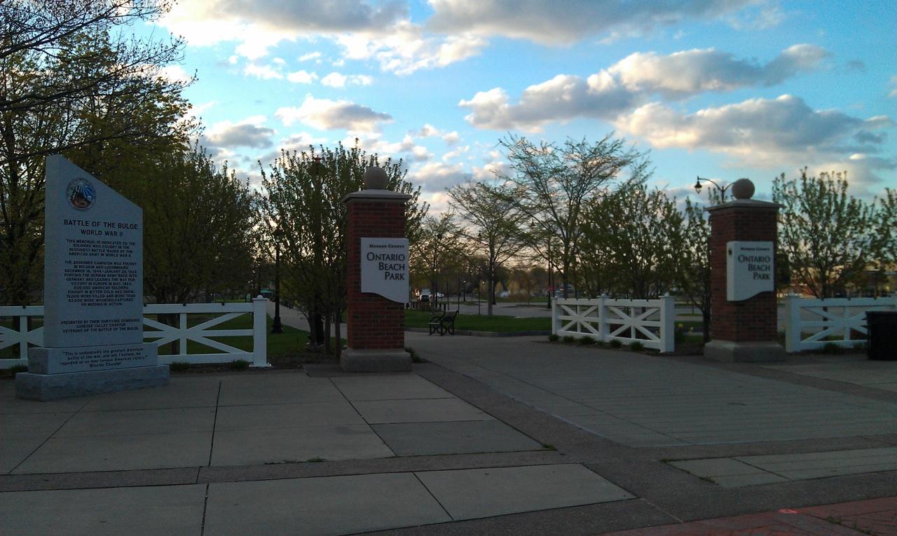 The Entrance To Ontario Beach Park