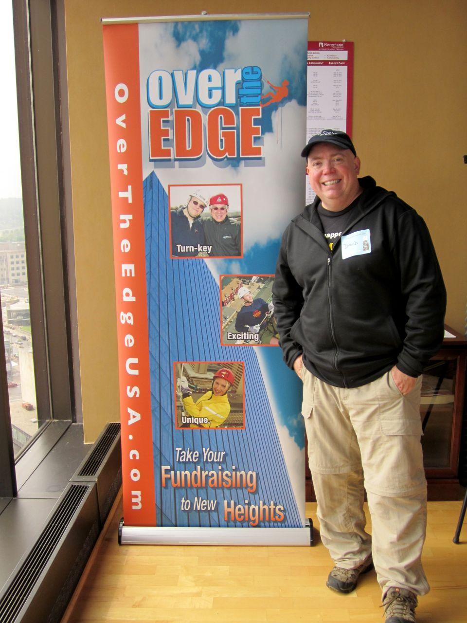Over The Edge Program for fund raising.