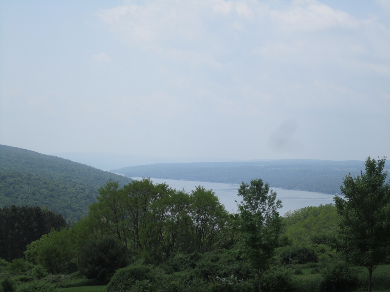 View Of One Of The Tips Of Keuka Lake