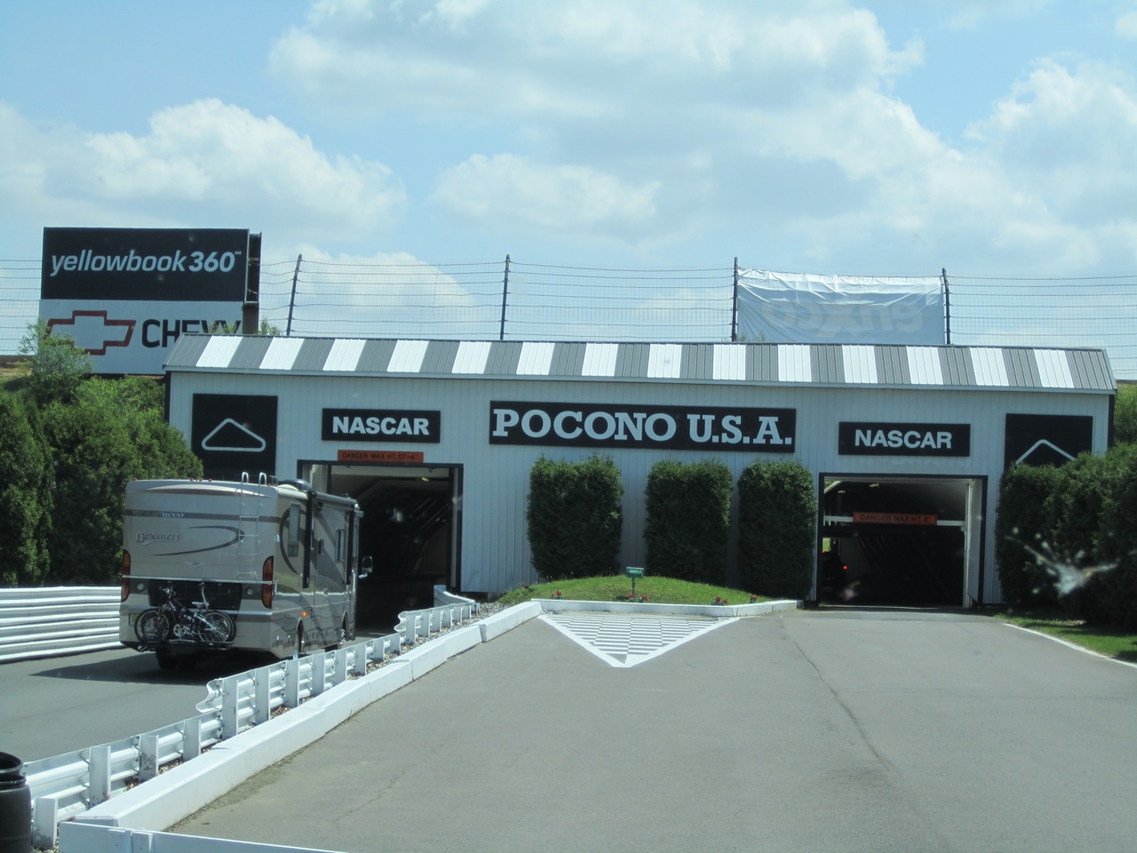 Pocono Raceway Tunnel Entrance To The Infield