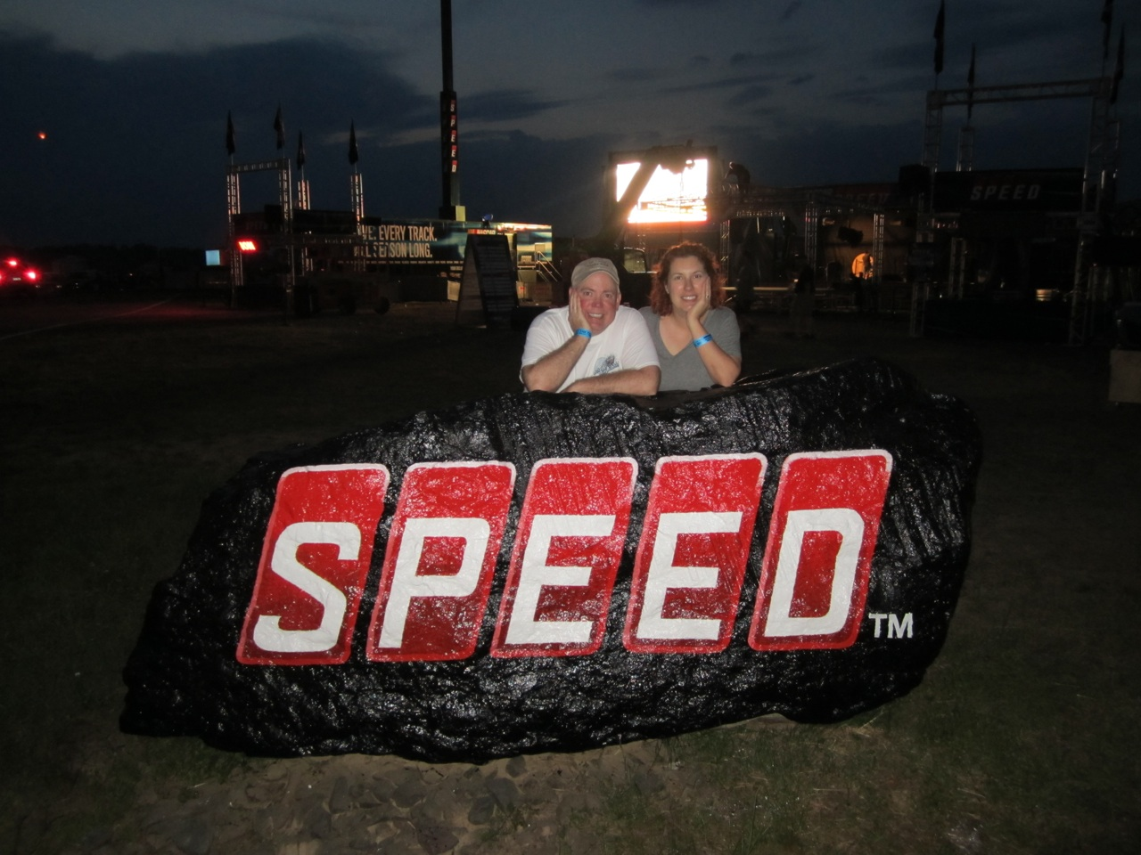 Speed Channel Stage.