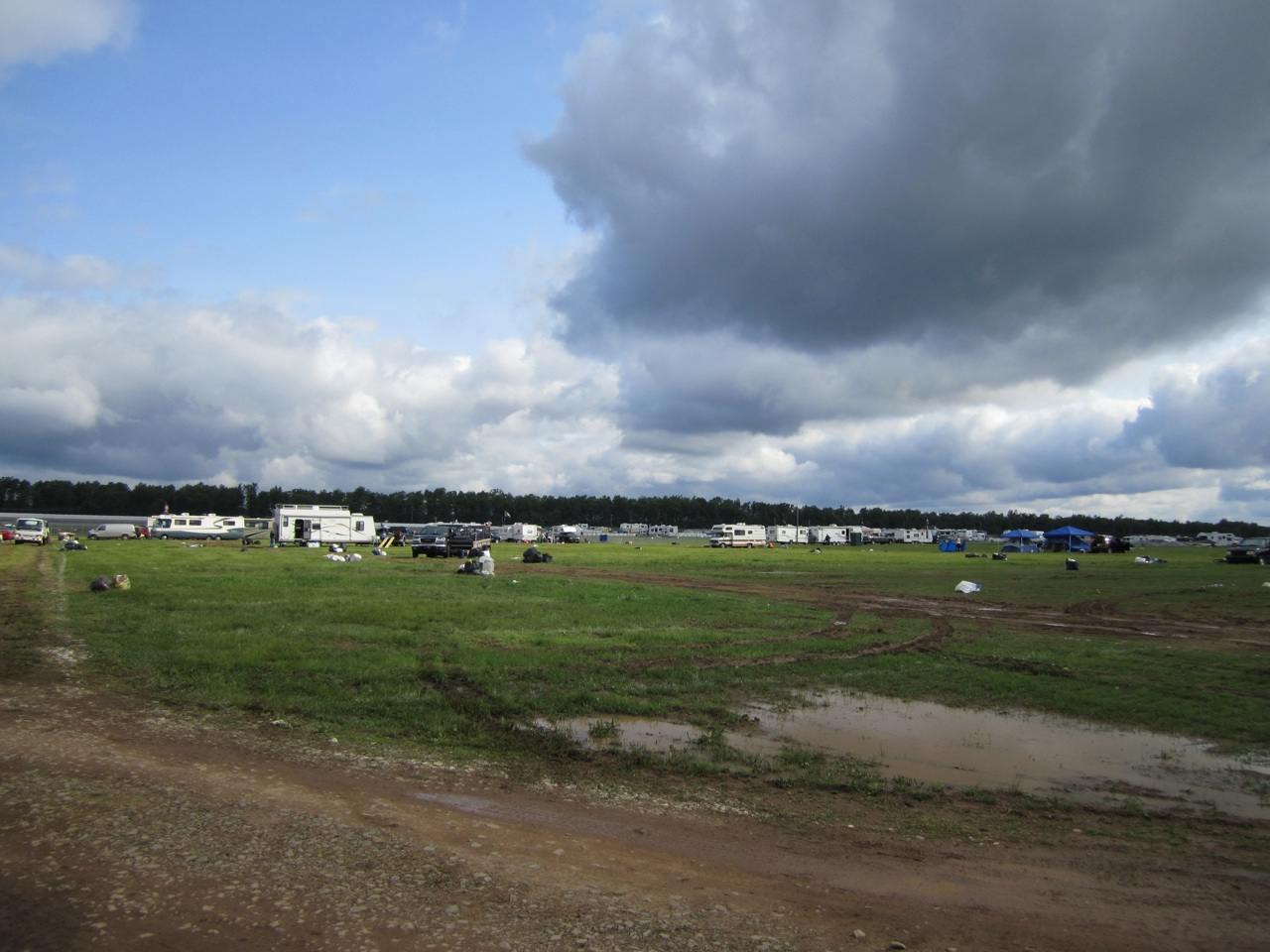 The Infield The Next Day