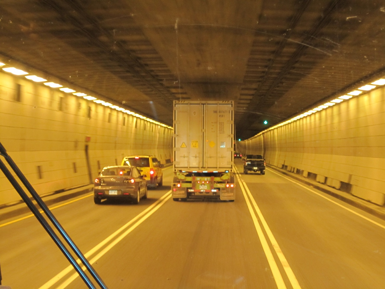 Tunnel Under The St. Lawrence River