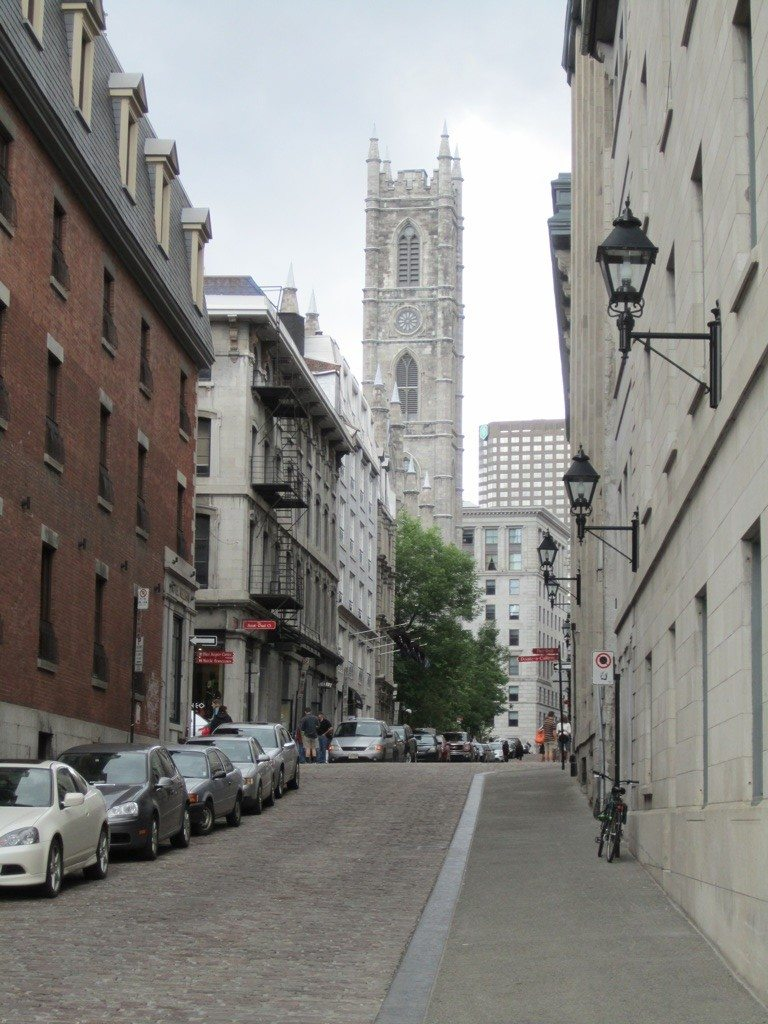 Another View Of The Old Montreal Buildings