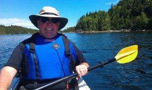 David Kayaking In Cottlesville