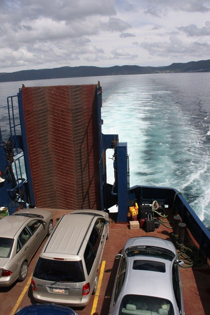 The Ferry Ride Over To Bell Island