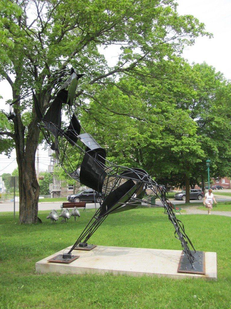 Interesting Horse Statue