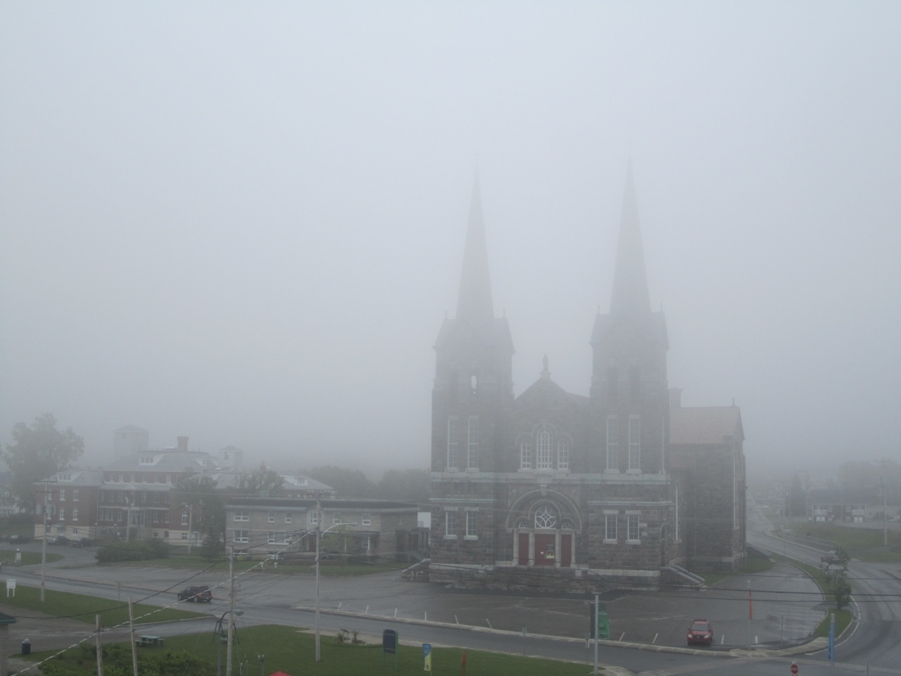 The Church In Fog