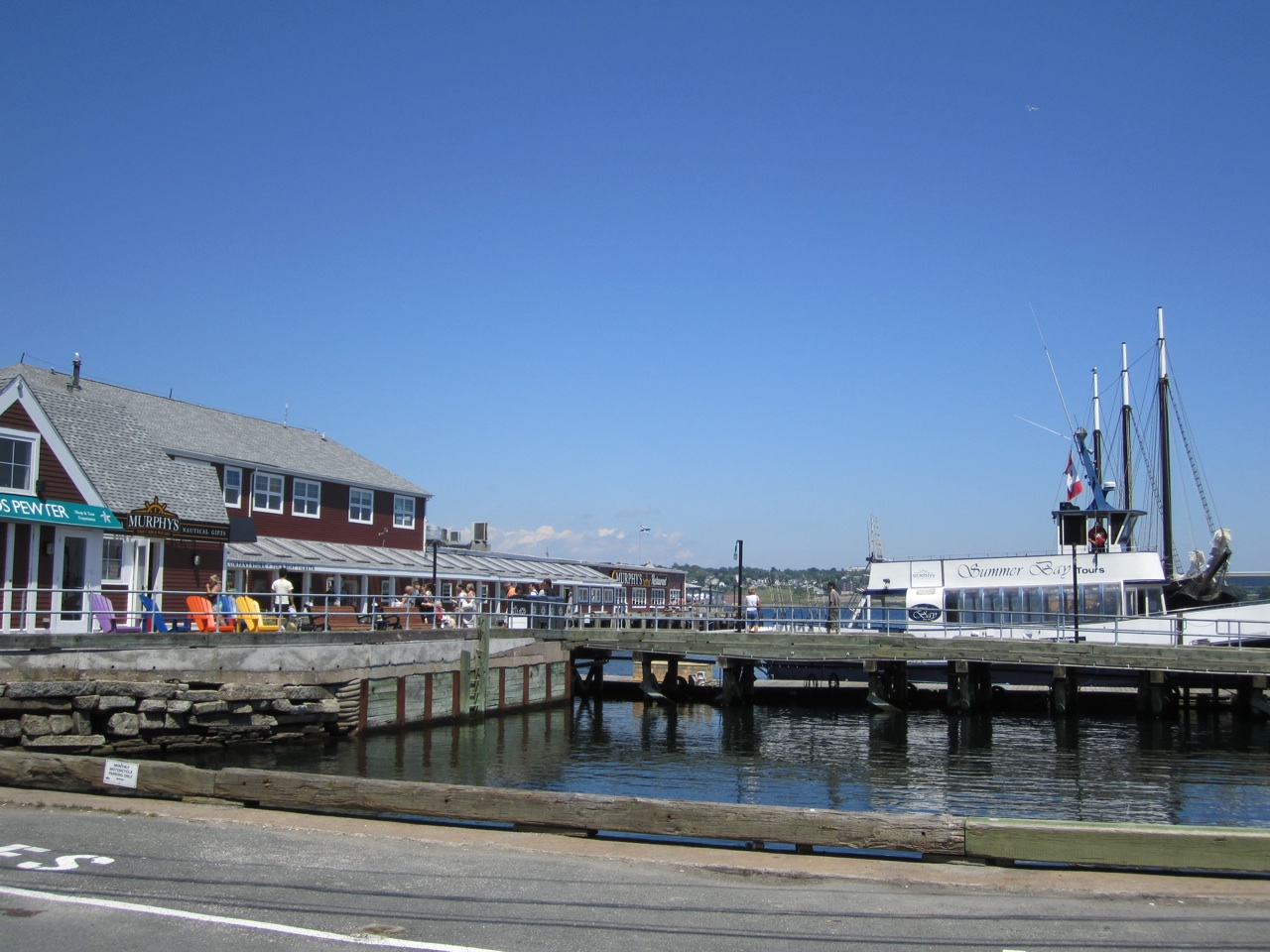The Wharf In Halifax