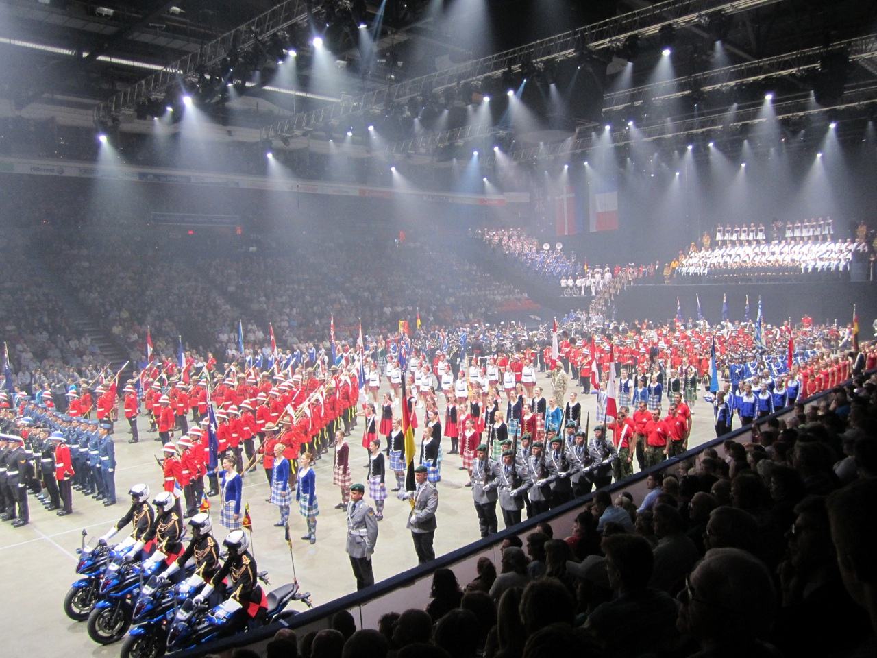 All The Performers Out On The Floor At The End Of The Show For The Big Finale