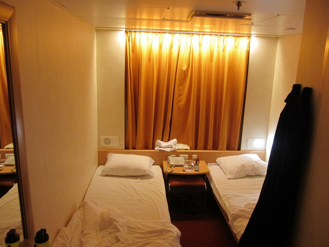 Our Cabin On Board The Ferry