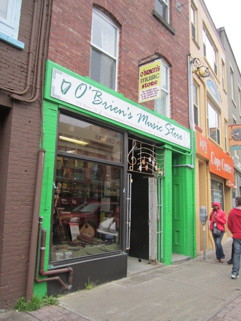 O'Brien's Music Store On Water Street