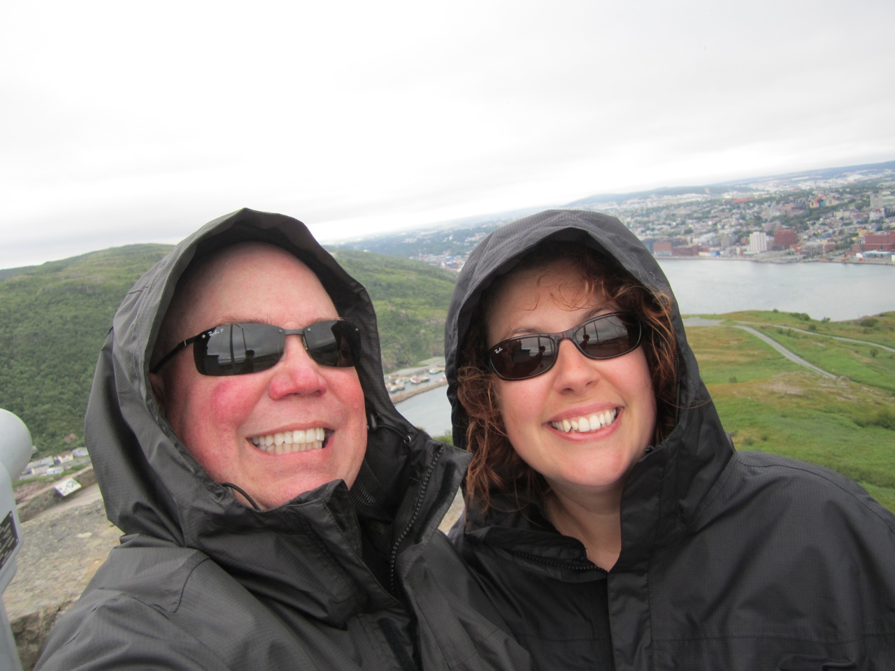 On Signal Hill Overlooking St. John's