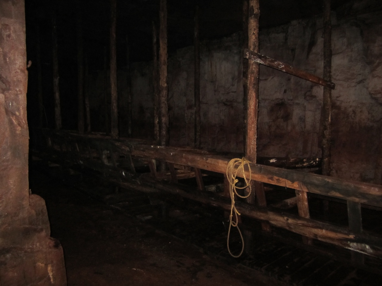 The Horses Stables In The Mine