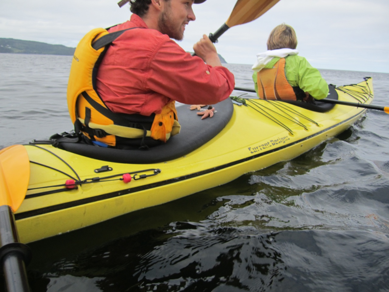 One Of Our Guides With A Couple Of Starfish