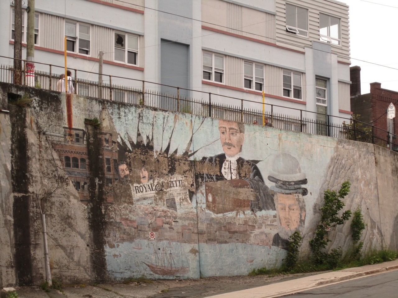 Murals Are Plentiful In St. John's