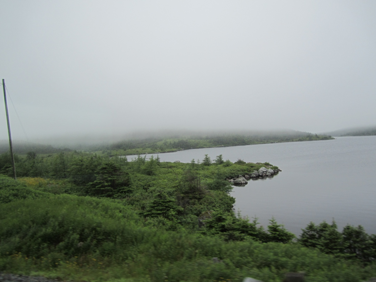 The Beautiful Scenery On Our Way To Gander