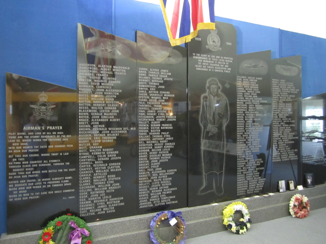The Memorial Wall Inside The Museum