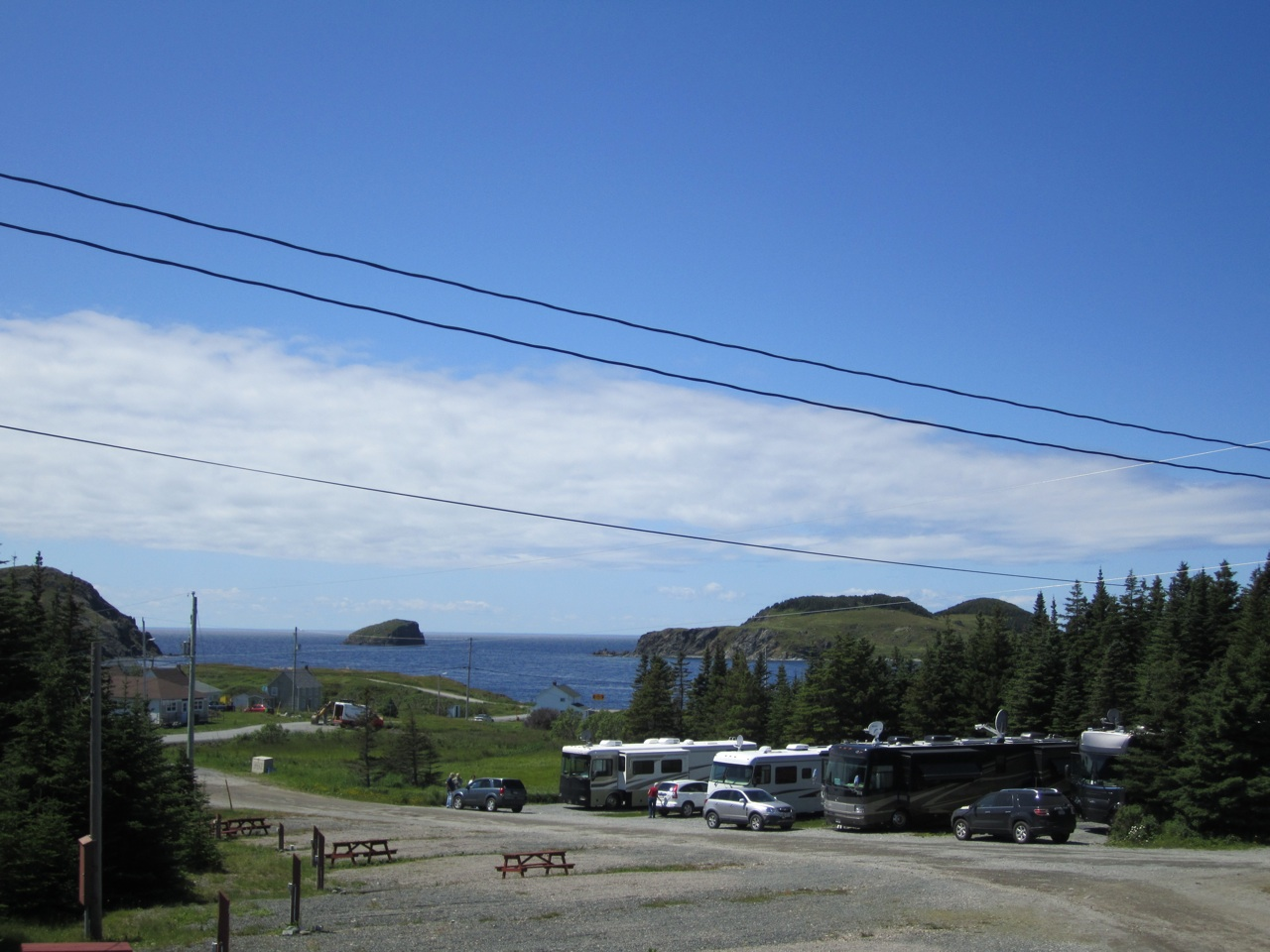Our Campground In Twillingate