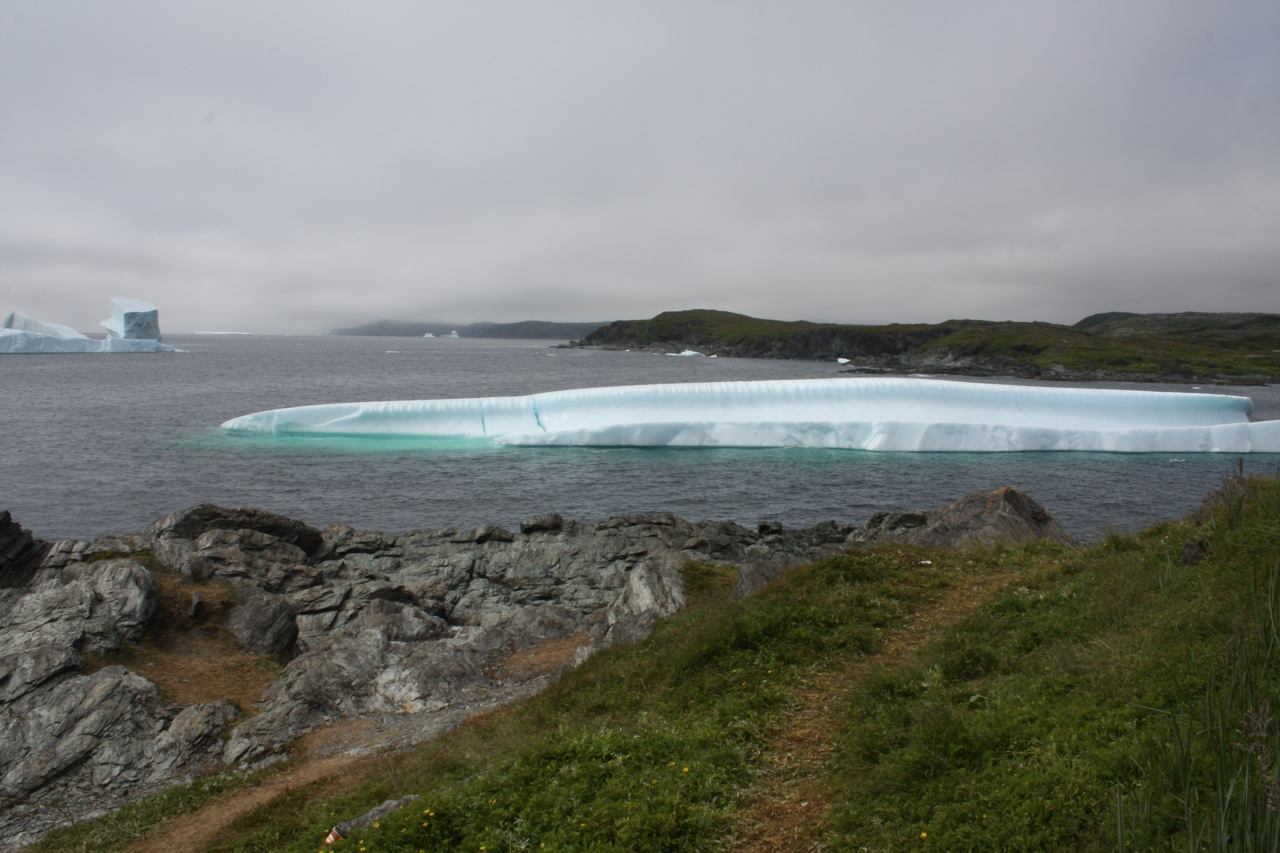 A Large Iceberg In Goose Cove Bay