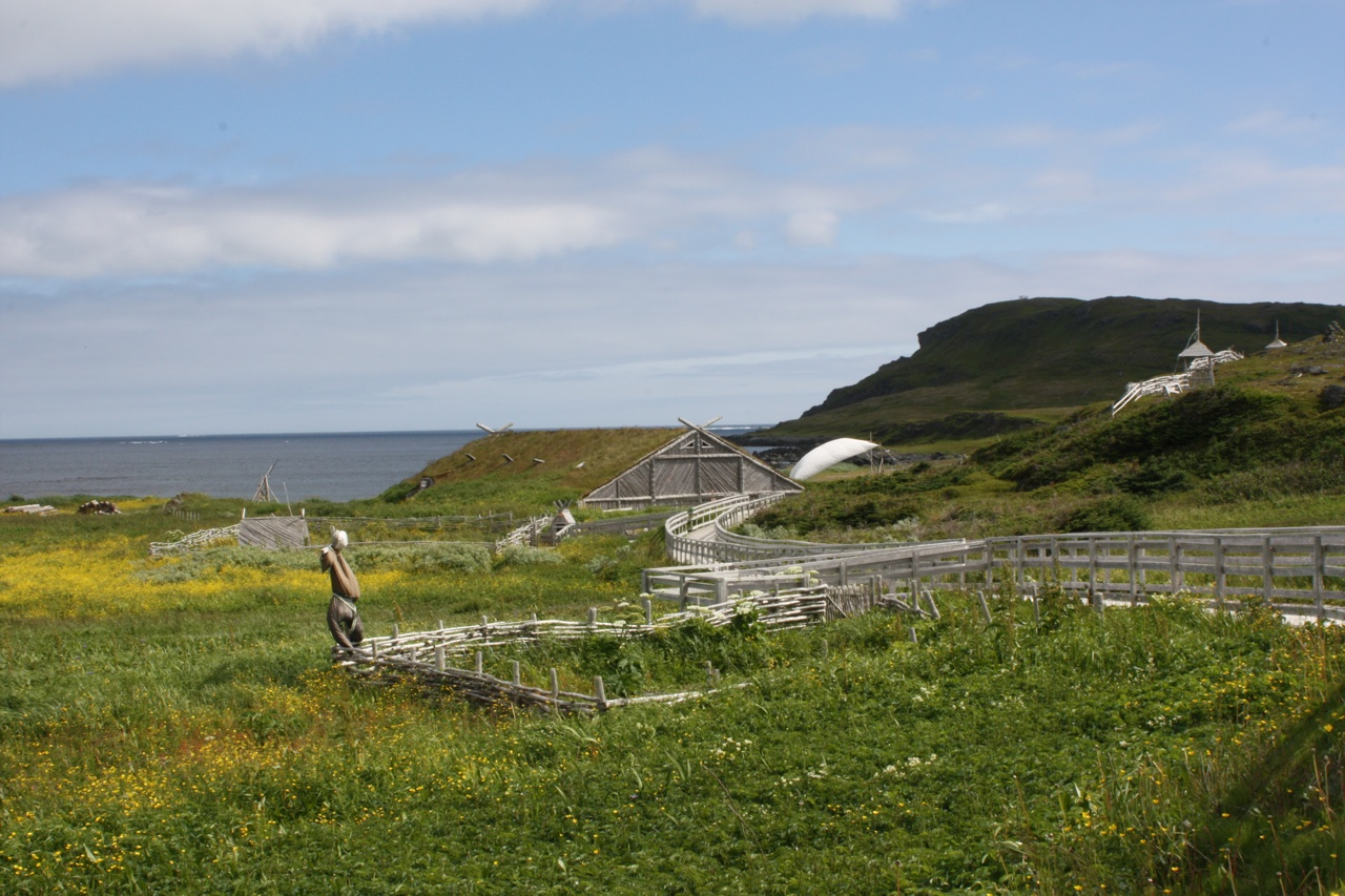 Viking Village At L'Anse aux Meadows