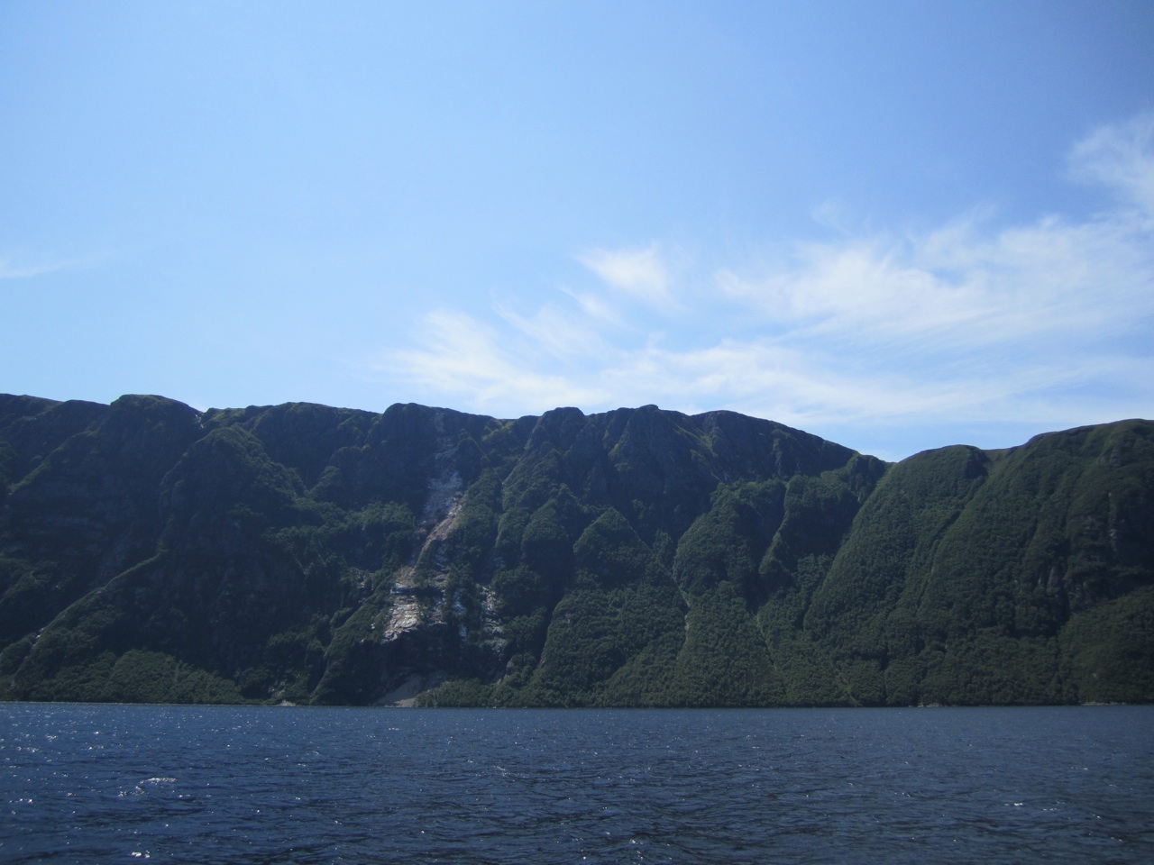 Another View Of The Fjord From The Boat