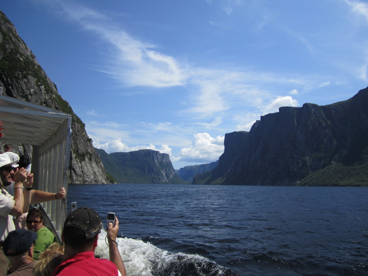 Leaving The Fjord