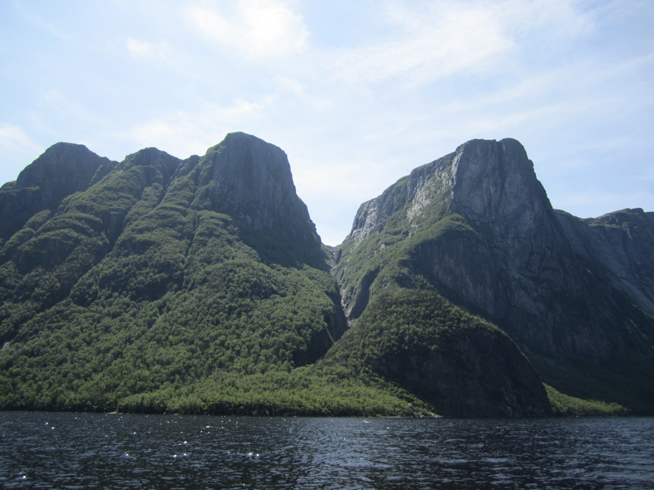 More Of The Mountains In The Fjord