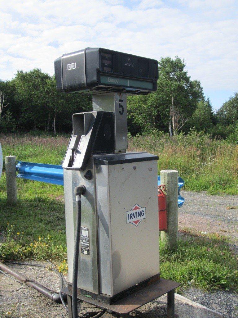 A Diesel Gas Pump In Newfoundland