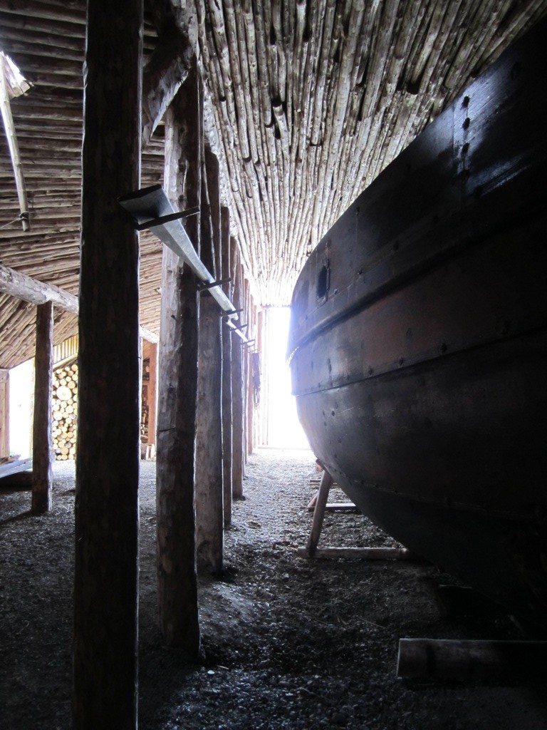 The Ship Inside The Boat House