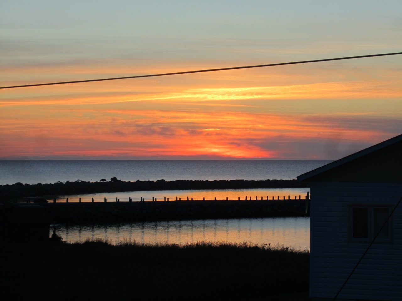 Sunset In Rocky Harbour