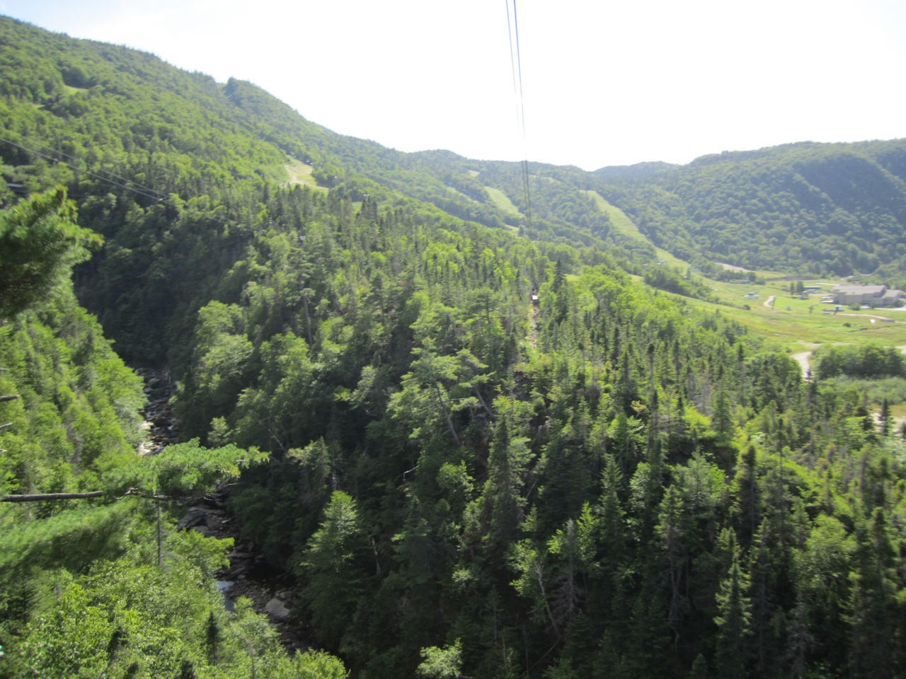 A View From The Zip Lines Of Marble Mountain