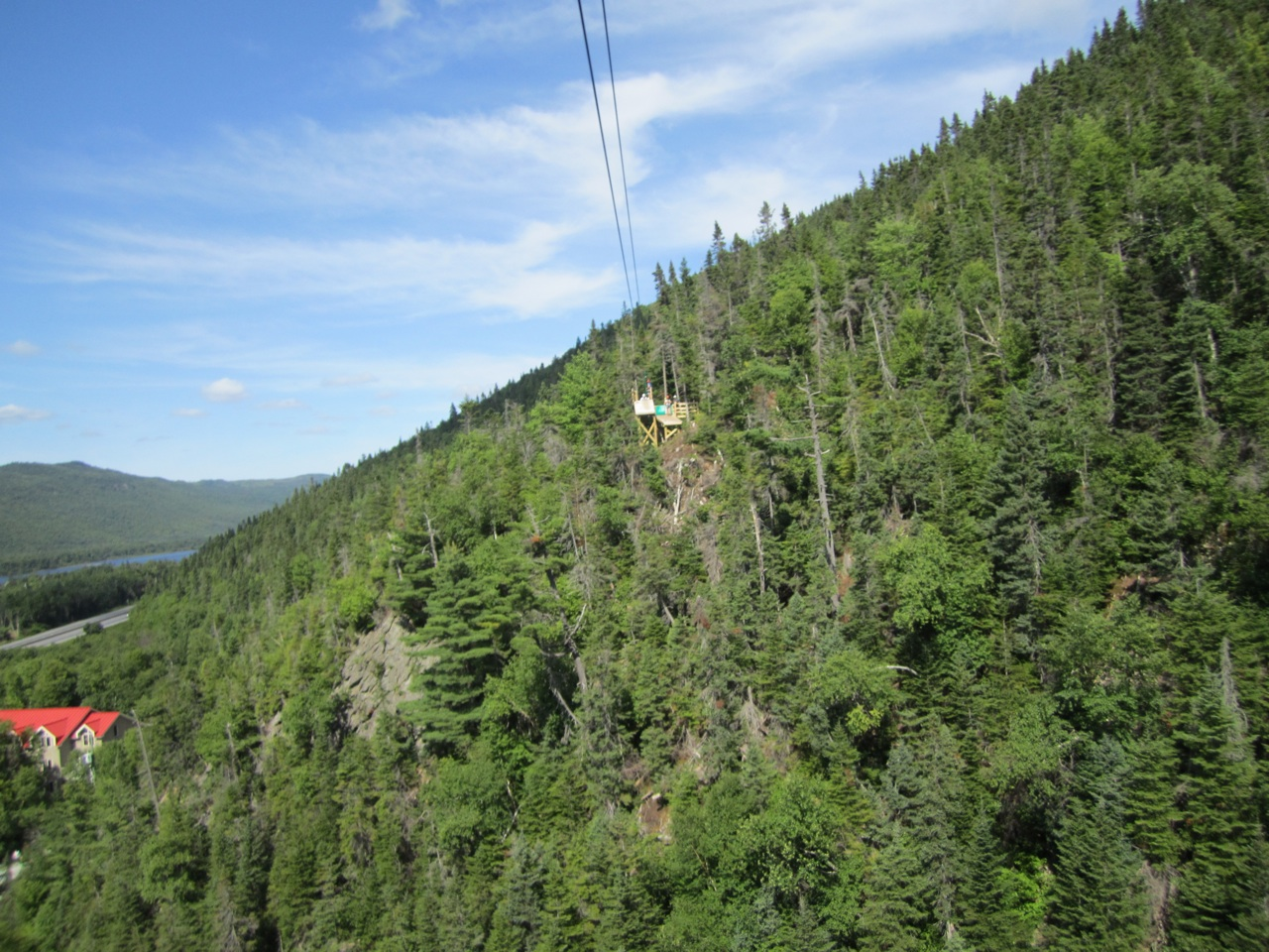 Zip Line At Marble Mountain