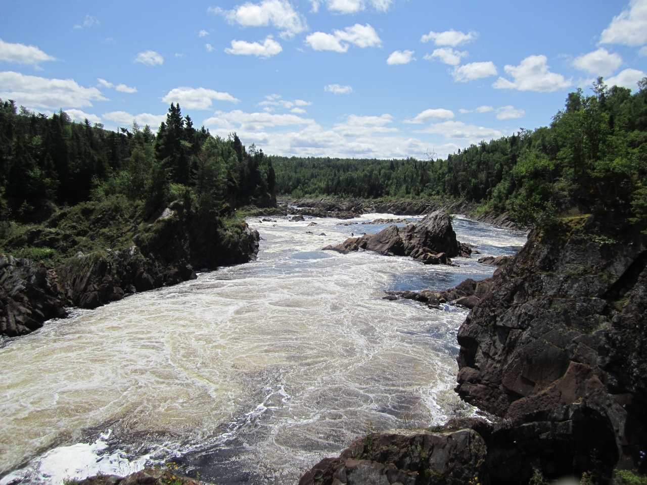 Some Rapids By Grand-Falls Windsor