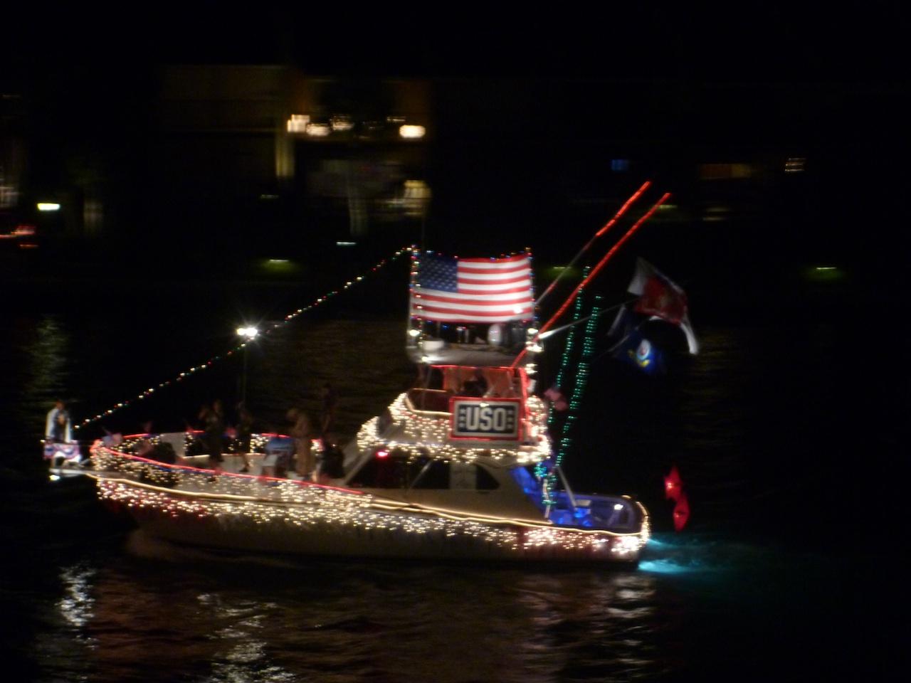 The USO Boat