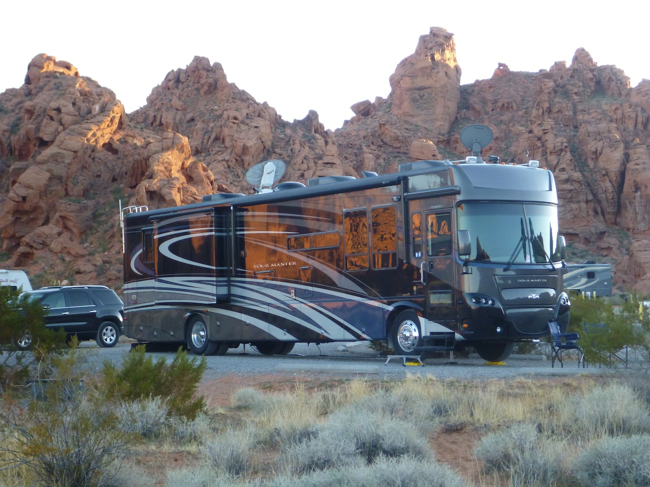 Our Camp Site In The Valley Of Fire State Park