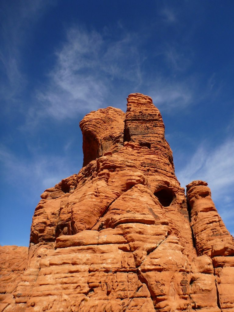 Some Of The Red Rock Formations Around The Campground