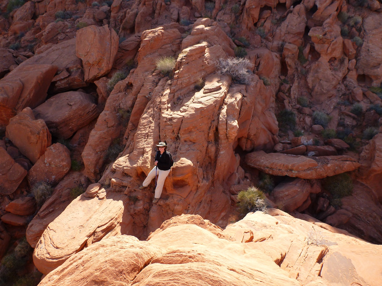 Me Around Some Of The Red Rock Formations