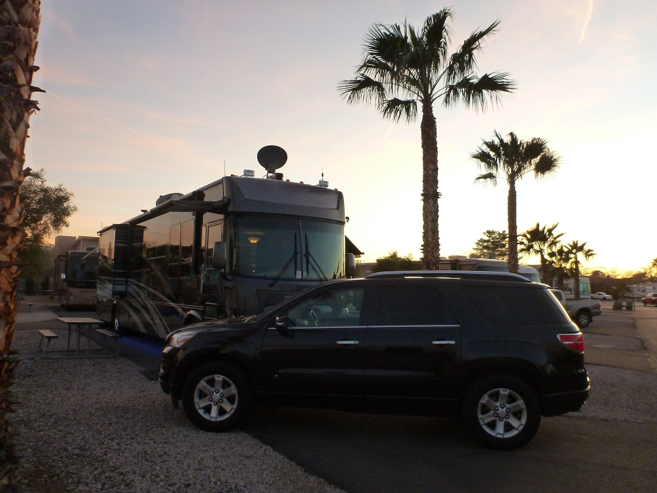 Our Site At The Las Vegas RV Resort