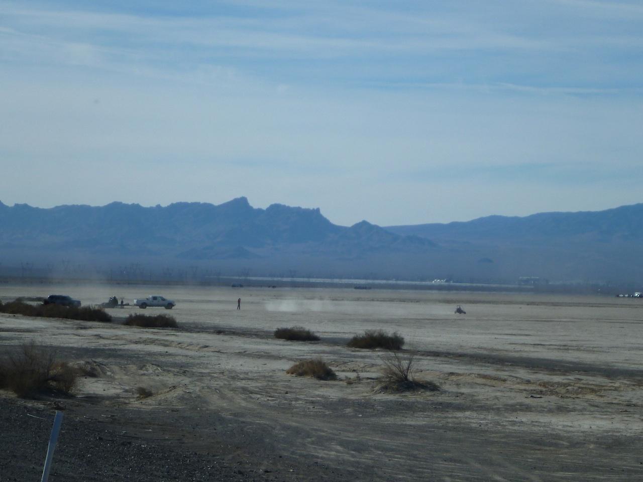 Dune Buggying In The Desert